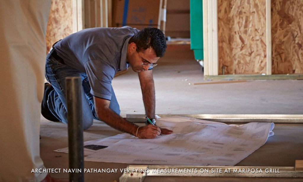 NAVIN ON SITE AT MARIPOSA